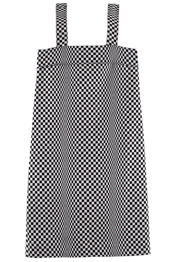 Checkerboard Rita Dress