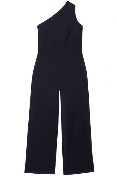 Midnight One Shoulder Jumpsuit