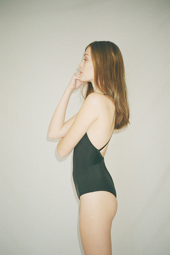 Nu Swim - Black Seaweed Suit