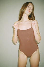 Nu Swim - Cocoa Straight One Piece