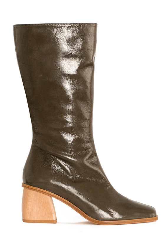 Green Emiliana Boot