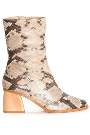 Brown Snake Emilia Boot
