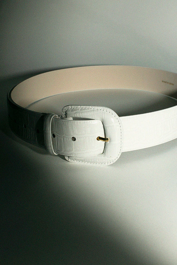 White Scott Belt