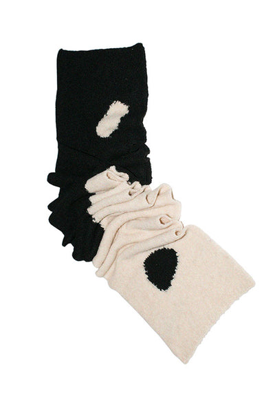 Black & White Coco Scarf