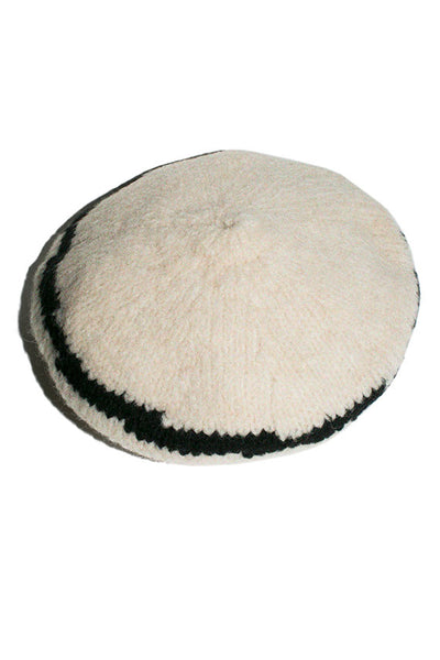 Black & White Tere Beret