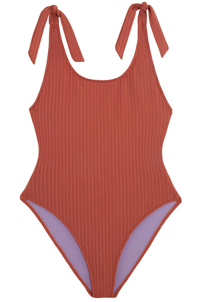 Rust Lapiscine Swimsuit