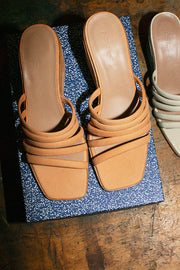 Peach Magdalene Wedge