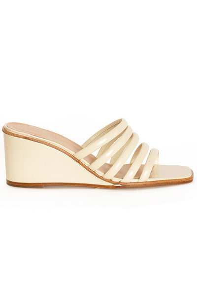 Off White Magdalene Wedge