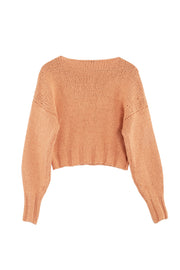 Peach Tratame Sweater