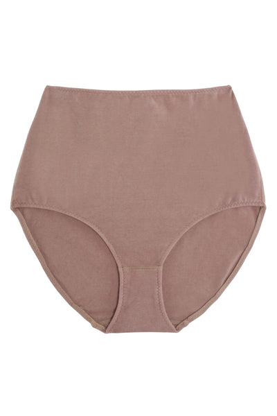 Mauve X High Rise Brief