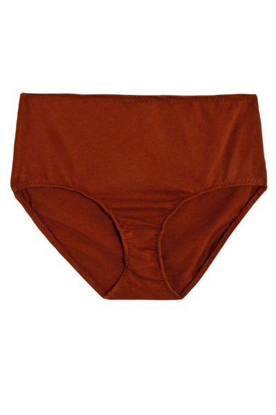 Rust High Rise Brief