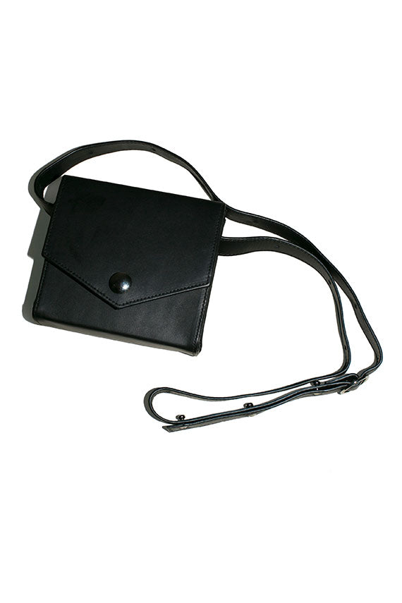 Black Ana Belt Bag