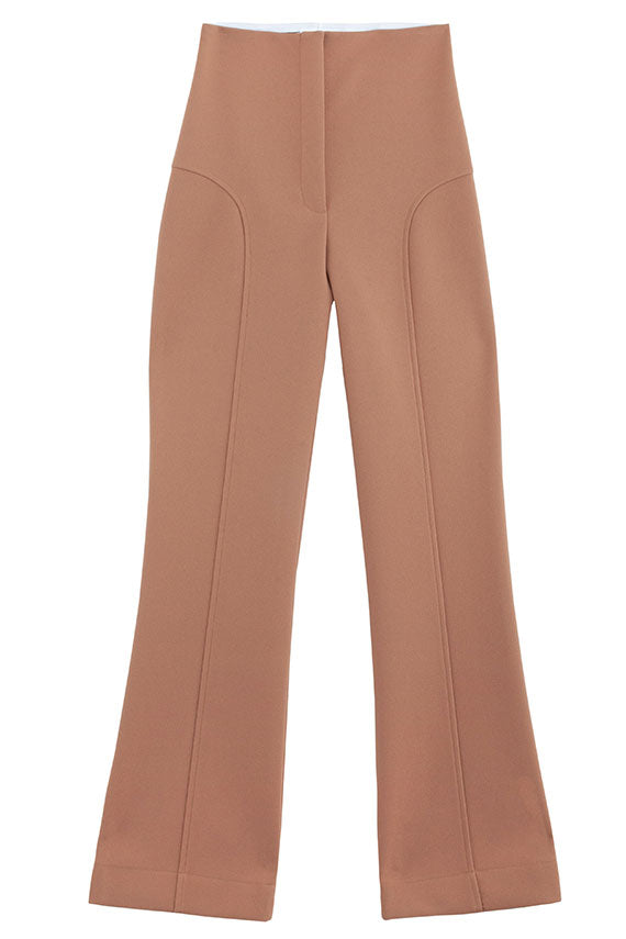 Paris Georgia - Toffee Bootleg Trouser