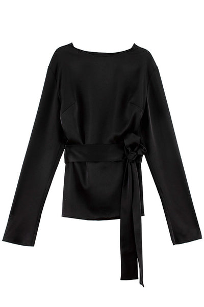 Paris Georgia - Black Alba Top