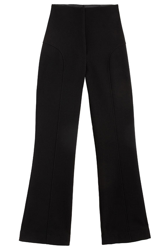 Black Bootleg Trouser