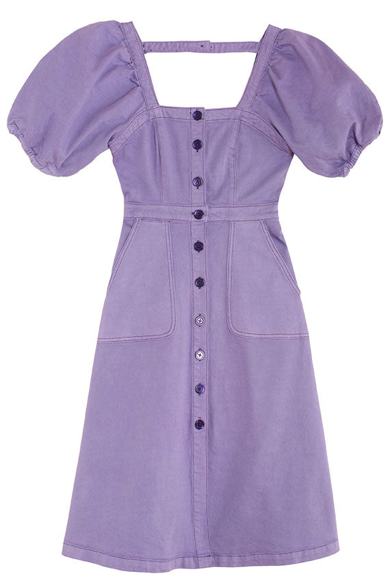 Foxglove Lulu Puff Sleeve Dress