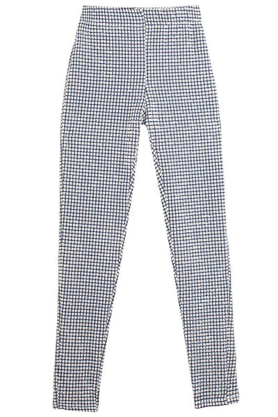 Gingham  Embossed Pua Legging