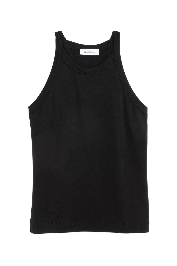 Black Oana Supple Tank
