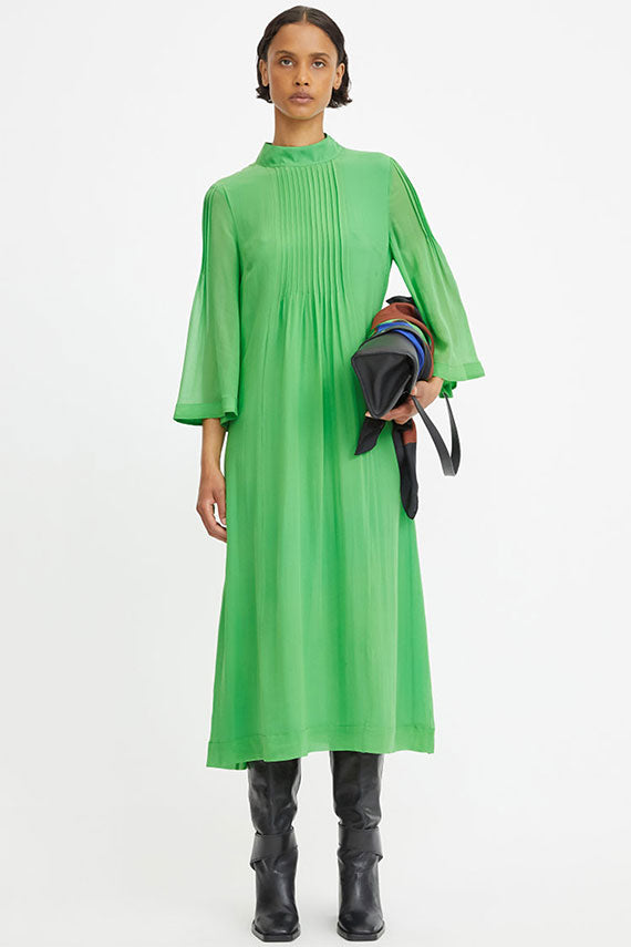 Emerald Green Floriana Dress