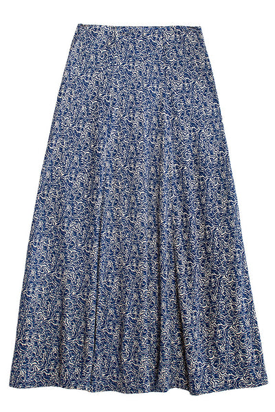 Picasso Blue Inec Skirt