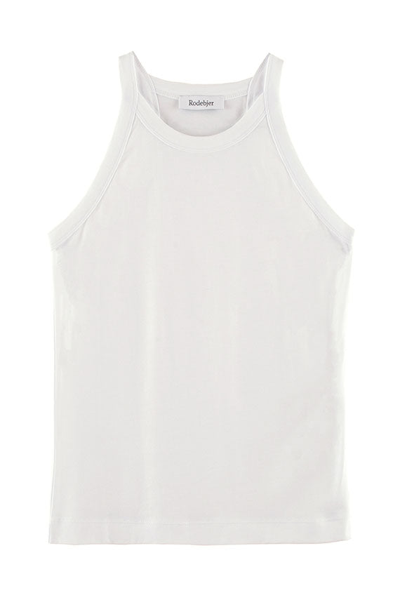 White Oana Supple Tank