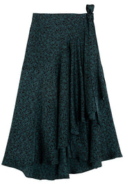 Dark Emerald Alva Skirt