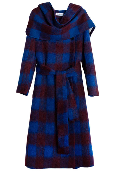 Imperial Blue Edit Coat