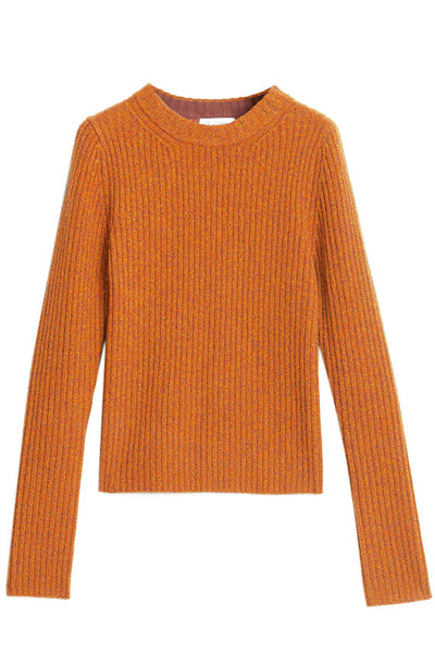 Sharp Orange Talena Sweater