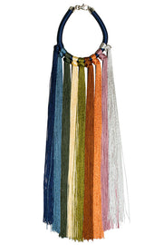 Rainbow Multi Aili Necklace