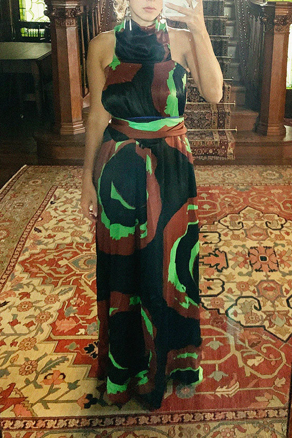 Swirl Domenga Dress