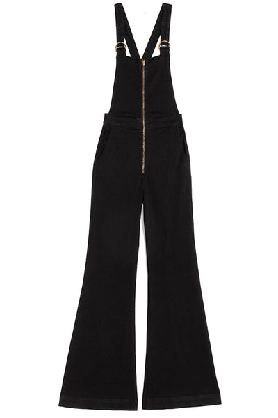 Galaxy Black Eastcoast Flare Overall
