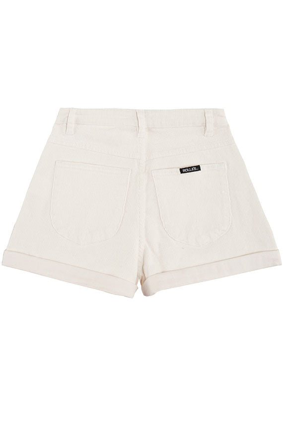 Off White Duster Cord Short