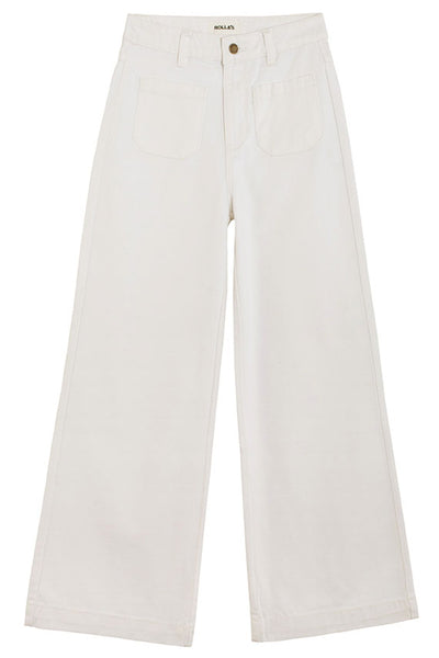 White Wash Sailor Jean
