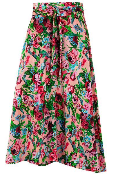 Painted Floral Daydream Skirt