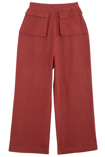 Crimson Fetching Pants