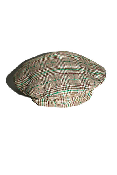 Plaid Troubadour Hat