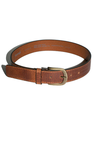 Brown Scaglia Belt
