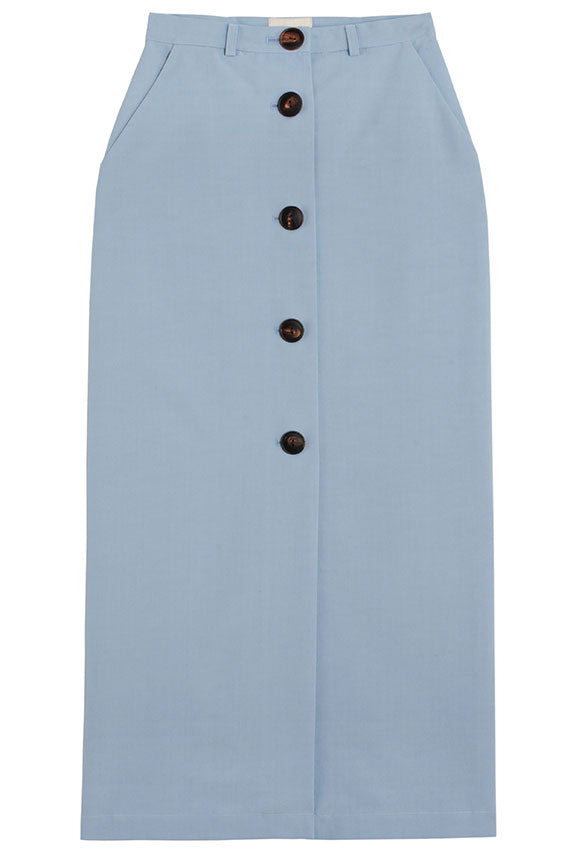 Sky Blue Boipello Skirt