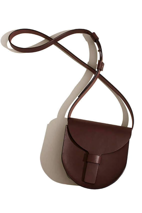 Dark Brown Saddle Bag