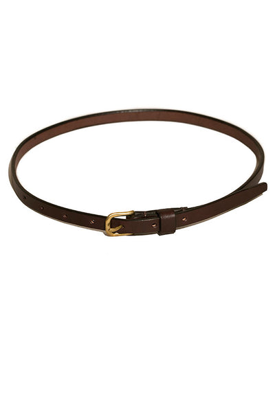 "1/2"" Dark Brown Belt"