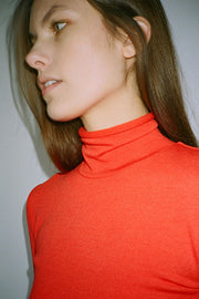 Red Gloria Turtleneck