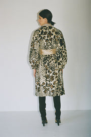 Cheetah Leo Coat