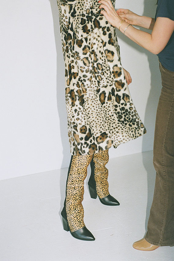 Cheetah Sage Boot
