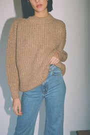 Camel Fisherwoman Pullover