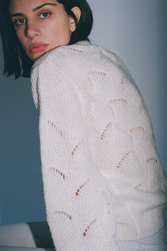 Cream Laura Sweater