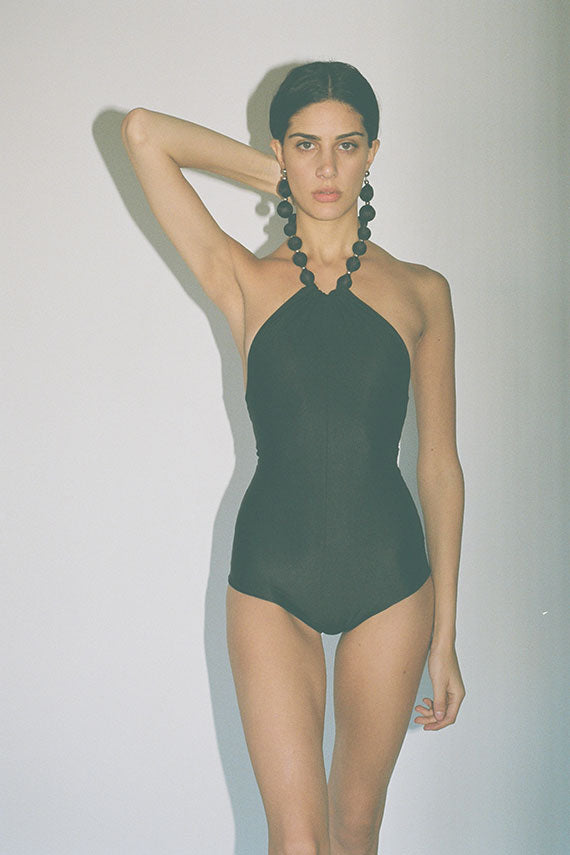 Black Pendant Swimsuit