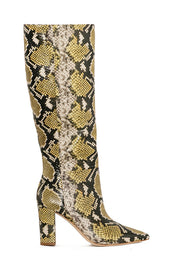 Honey Jerri Snake Boot