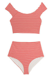 Striped Lydia & Naomi Bikini