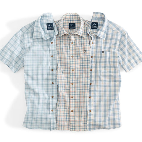 Short Sleeve Rumfront Button Down Collection