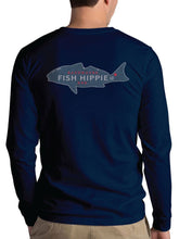 Backwater Red Long Sleeve T-Shirt